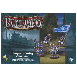 Runewars Miniatures Game: Daqan Infantry Command – Unit Upgrade...