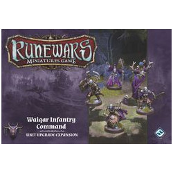 Runewars Miniatures Game: Waiqar Infantry Command – Unit Upgrade...