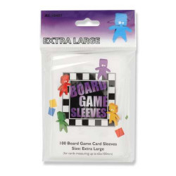 Board Game Sleeves Extra Large (65 x 100 mm) 100 pcs
