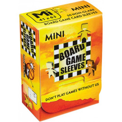 Board Game Sleeves (Non Glare) - Mini (41x63 mm) 50 pcs