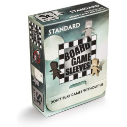 Board Game Sleeves (Non Glare) - Standard (63x88 mm) 50 pcs