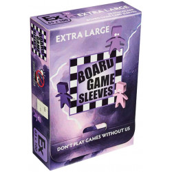 Board Game Sleeves (Non Glare) - Extra Large (65x100 mm) 50 pcs