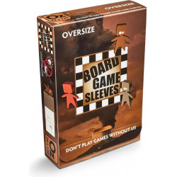 Board Game Sleeves (Non Glare) - Oversize (79x120 mm) 50 pcs