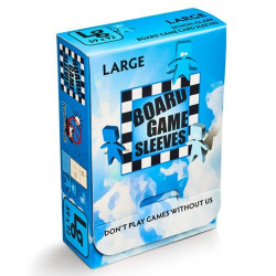 Board Game Sleeves (Non Glare) - Large (59x92 mm) 50 pcs