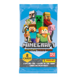 Minecraft Adventure Trading Card Game - Booster Pack