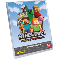Minecraft Adventure Trading Card Game - Collector's Album