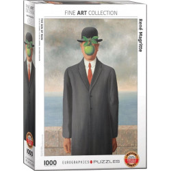 The Son of Man- René Magritte puzzle (1000)