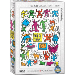 Collage - Keith Haring puzzle (1000)