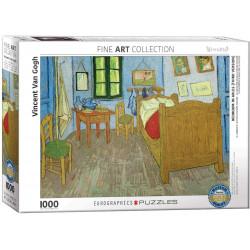 Bedroom in Arles (Third Version) - Vincent Van Gogh puzzle (1000)