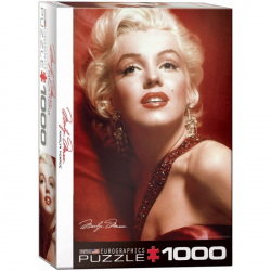 Marilyn Monroe Red Portrait puzzle (1000)