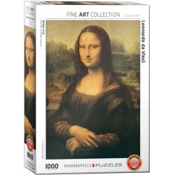 Mona Lisa - Leonardo da Vinci puzzle (1000)