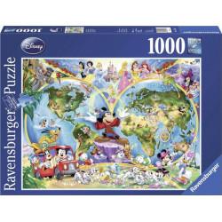 Disney's World map (1000)