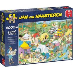 Jan van Haasteren Camping in the Forest (2000)