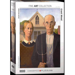 American Gothic - Grant Wood puzzle (1000)