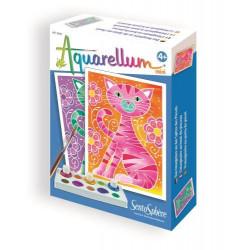 Aquarellum mini - cat
