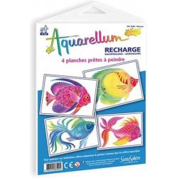 Aquarellum Junior Refill: Fishes
