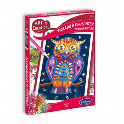 Art & Creation - Diamond Painting - Owl