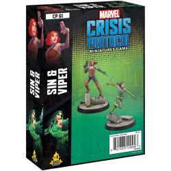 Marvel: Crisis Protocol – Sin & Viper
