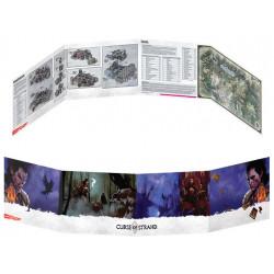 D&D Dungeon Master's Screen - Curse of Strahd