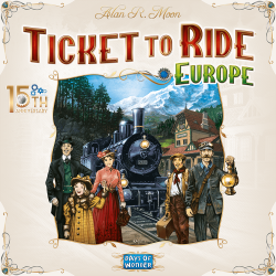 Ticket to Ride: Europe – 15th Anniversary