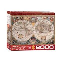 Antique World Map (2000)