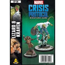 Marvel: Crisis Protocol – Lizard & Kraven
