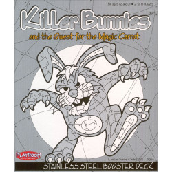 Killer Bunnies and the Quest for the Magic Carrot: Stainless STEEL...