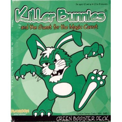 Killer Bunnies and the Quest for the Magic Carrot: GREEN Booster