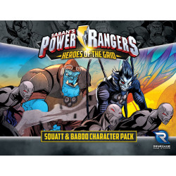 Power Rangers: Heroes of the Grid – Squatt & Baboo Character Pack