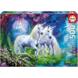 Unicorns in the forest (500)