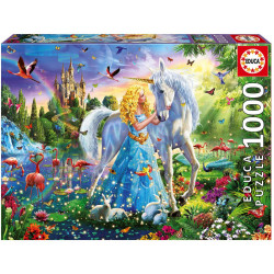 The princess and the unicorn (1000)