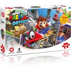[Beschädigt] Super Mario Odyssey World Traveler (500)