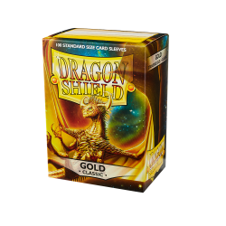 Dragon Shield 100 Classic Gold