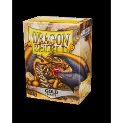 Dragon Shield 100 Matte Gold