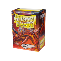Dragon Shield 100 Matte Red