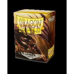 Dragon Shield 100 Matte Umber