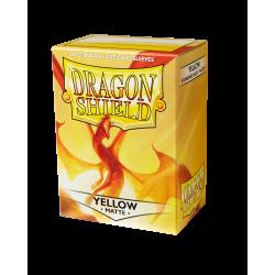 Dragon Shield 100 Matte Yellow