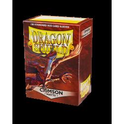 Dragon Shield 100 Matte Crimson