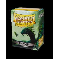 Dragon Shield 100 Matte Emerald