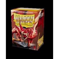 Dragon Shield 100 Matte Ruby