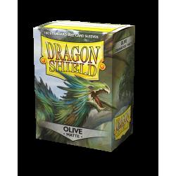 Dragon Shield 100 Matte Olive