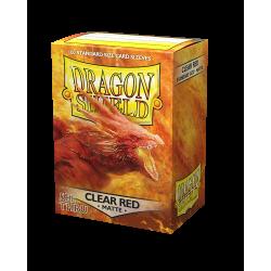 Dragon Shield 100 Matte Clear Red