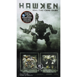 Hawken: Real-Time Card Game – Sharpshooter vs. Bruiser
