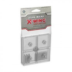 Star Wars: X-Wing Miniatures Game - Clear Bases