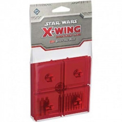 Star Wars: X-Wing Miniatures Game – Red Bases