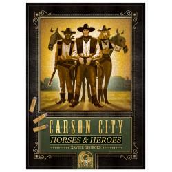 Carson City: Horses & Heroes Masterprint