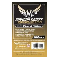 Mayday Sleeves: Magnum Gold 80x120mm (50p)