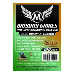 Mayday Tiny Epic Kingdoms Card Sleeves 88 x 125 (100p)