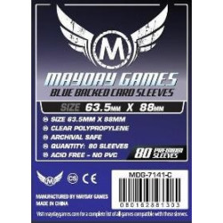Mayday Sleeves Blue Back  66x91 mm (80p)