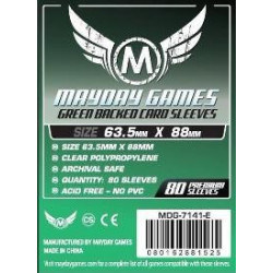 Mayday Sleeves Green Back  66x91 mm (80p)